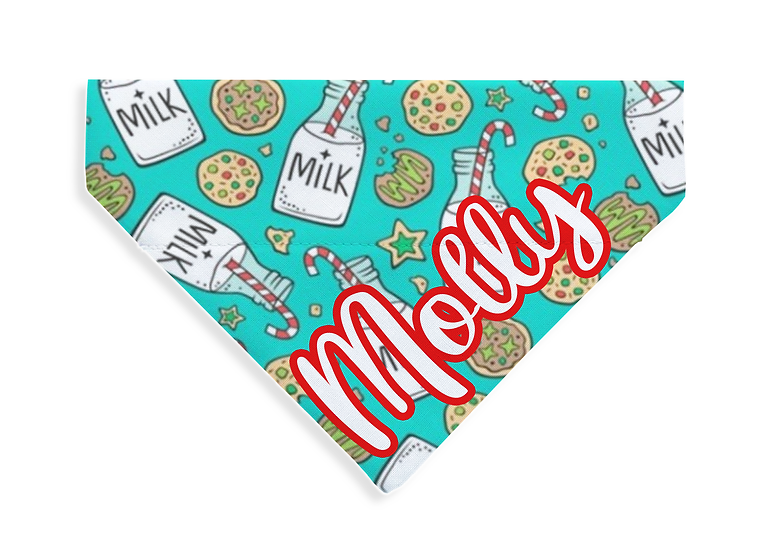 Milk and Cookies Bandana - From $10