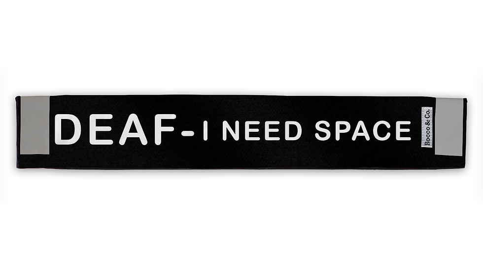 Deaf Need Space Lead Cover - $35