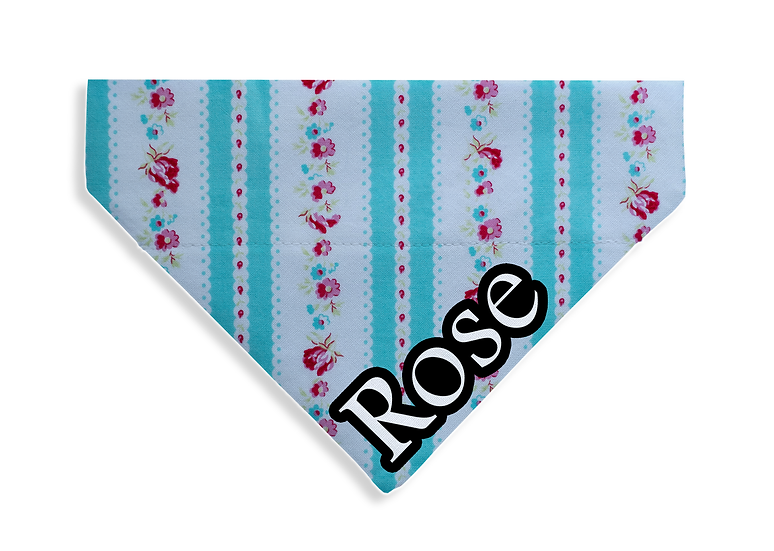 Vintage Flowers Bandana - From $15