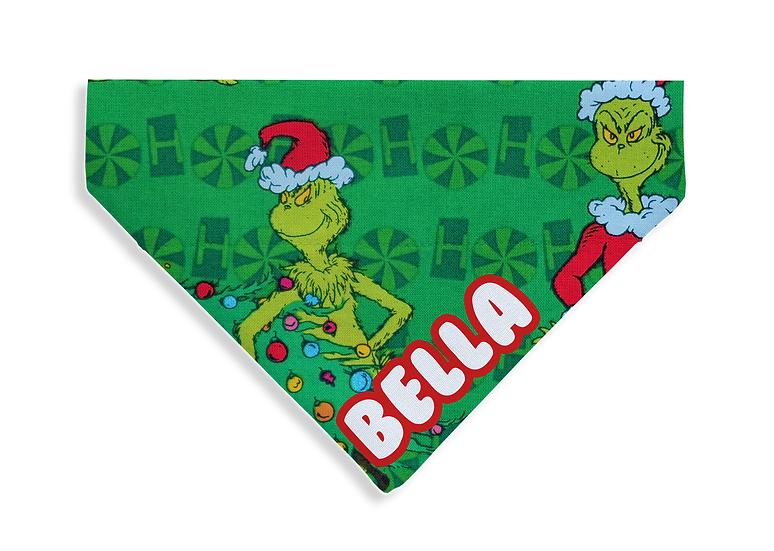 Green Grinch Bandana