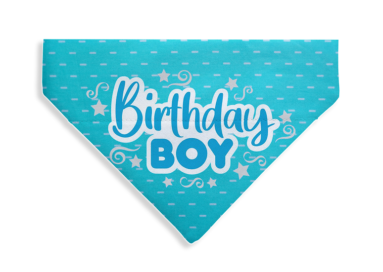 Birthday Boy Bandana - From $17