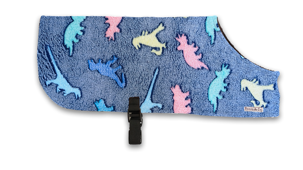 Fuzzy Dinosaur PJ'S - From $20