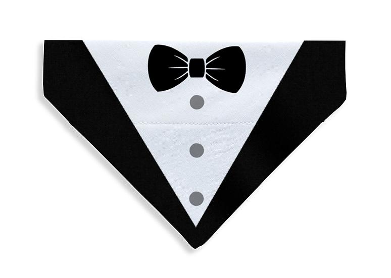Printed Tuxedo Bandana - From $17