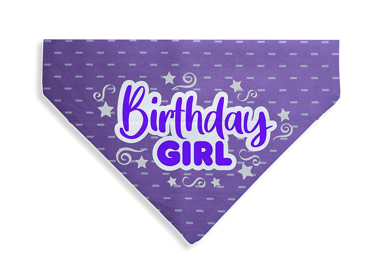 Birthday Girl Bandana - From $17