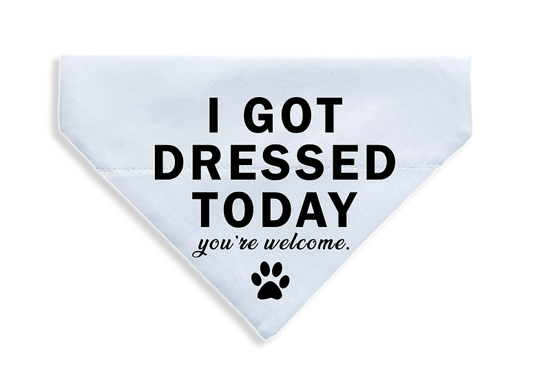 Got Dressed Today Bandana - From $17