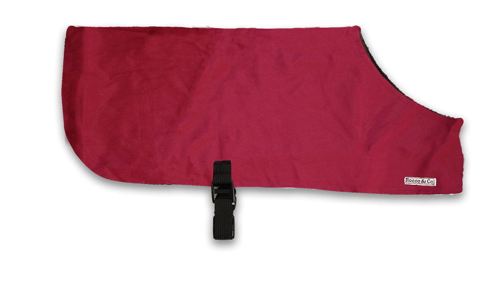 Burgundy Showerproof Jacket - From $20