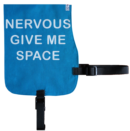 Nervous - Give Space Cotton Vest - From $20