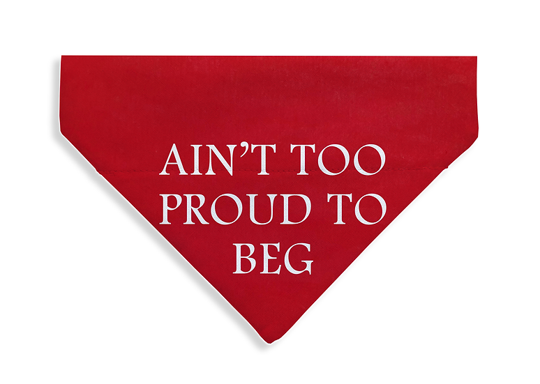 Proud to Beg Bandana - From $17