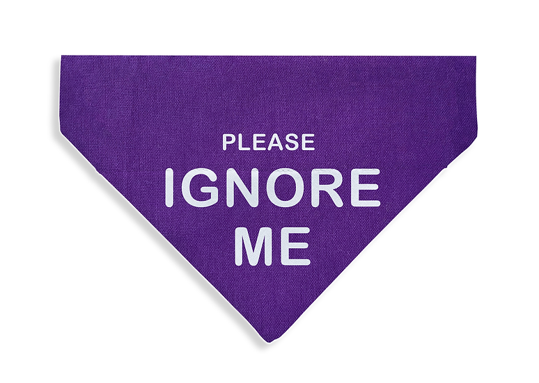 Ignore Me Bandana - From $17