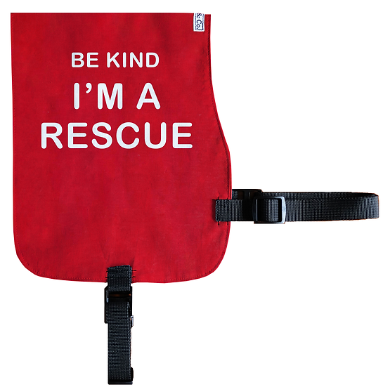 Be Kind - I'm a Rescue Cotton Vest - From $20