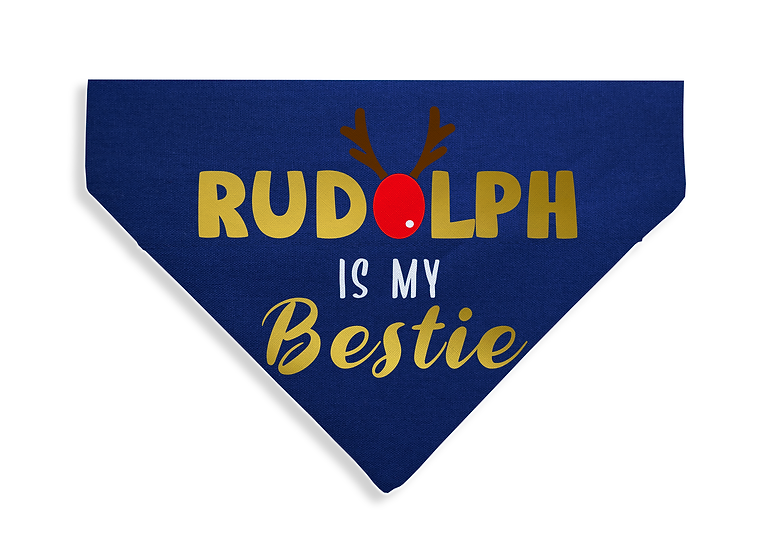 Rudolph is my Bestie Bandana