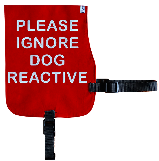 Please Ignore - Dog Reactive Cotton Vest - From $20
