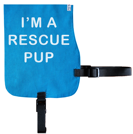 I'm a Rescue Pup Cotton Vest - From $20