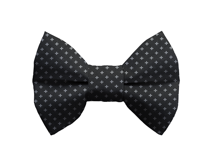 Dark Grey Bow Tie - From $10