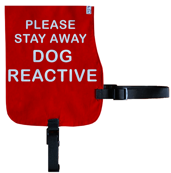 Stay Away - Dog Reactive Cotton Vest - From $20