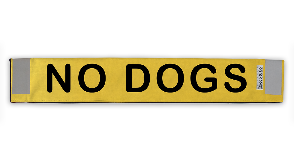 No Dogs Lead Cover - $35