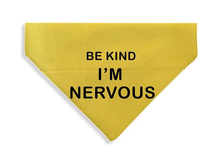 Be Kind - I'm Nervous Bandana - From $17
