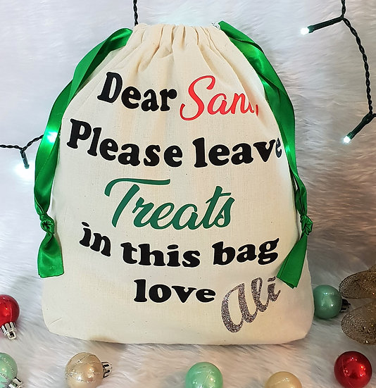Treats Bag - $30