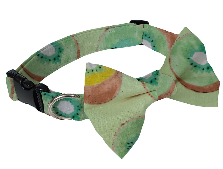 Kiwi Fruit Collar (Bow Tie Optional) - From $30