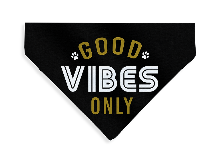 Good Vibes Bandana - From $17