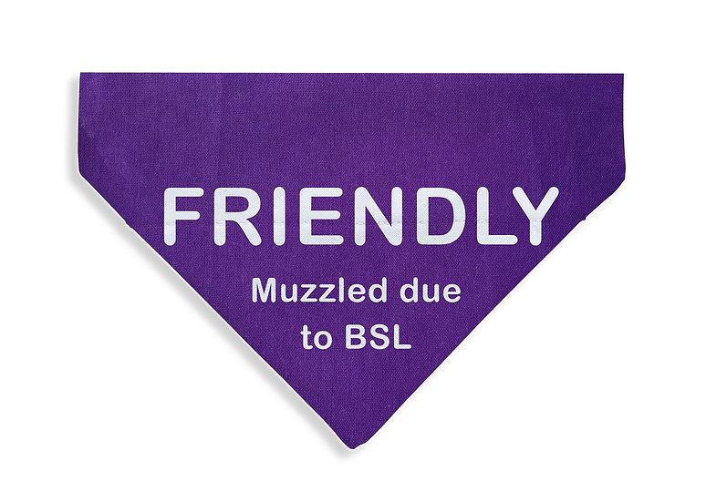 FRIENDLY - Muzzled Bandana - From $17
