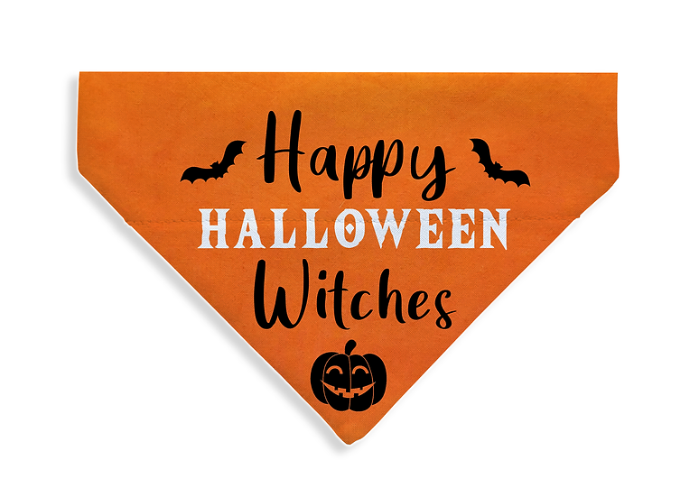 Happy Halloween Bandana - From $17