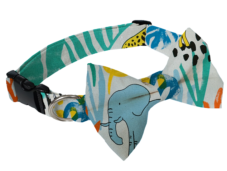 Safari Collar (Bow Tie Optional) - From $30