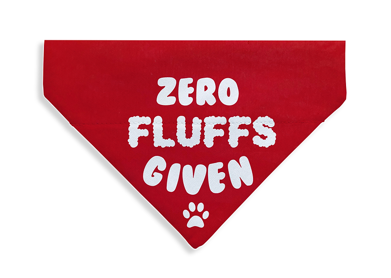 Zero Fluffs Given Bandana - From $17