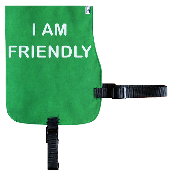 I am Friendly Cotton Vest - From $20