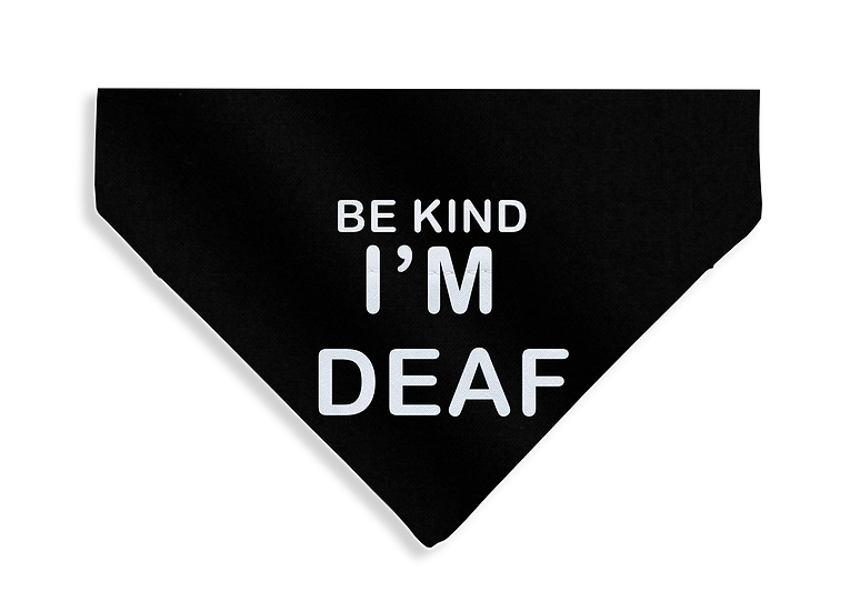 Be Kind - I'm Deaf Bandana - From $17