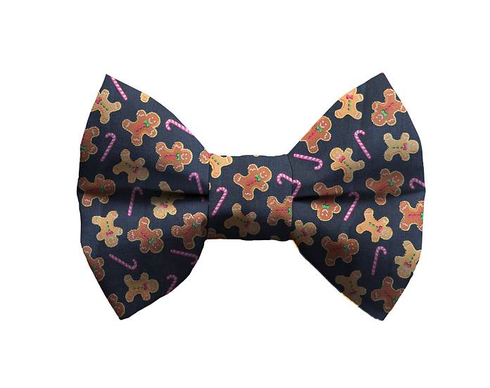 Gingerbread Man Bow Tie