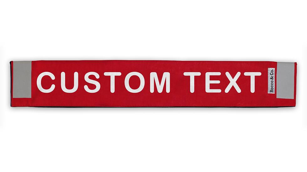 Custom Text Lead Cover - $35