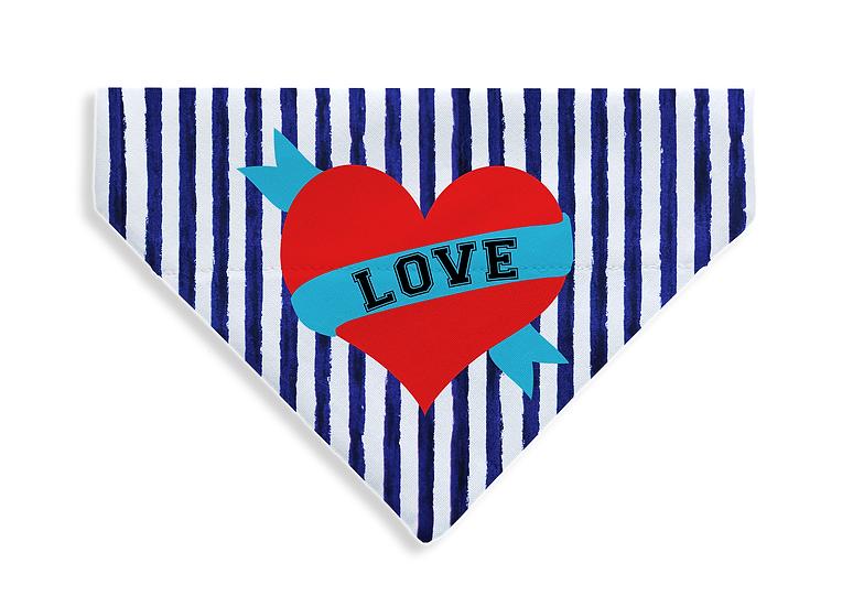 Pirate Heart Bandana - From $17