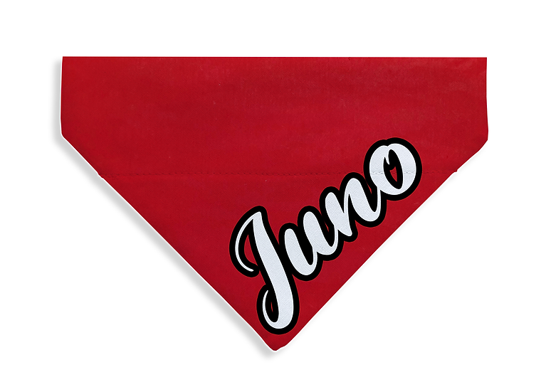 Red Named Bandana - From $17