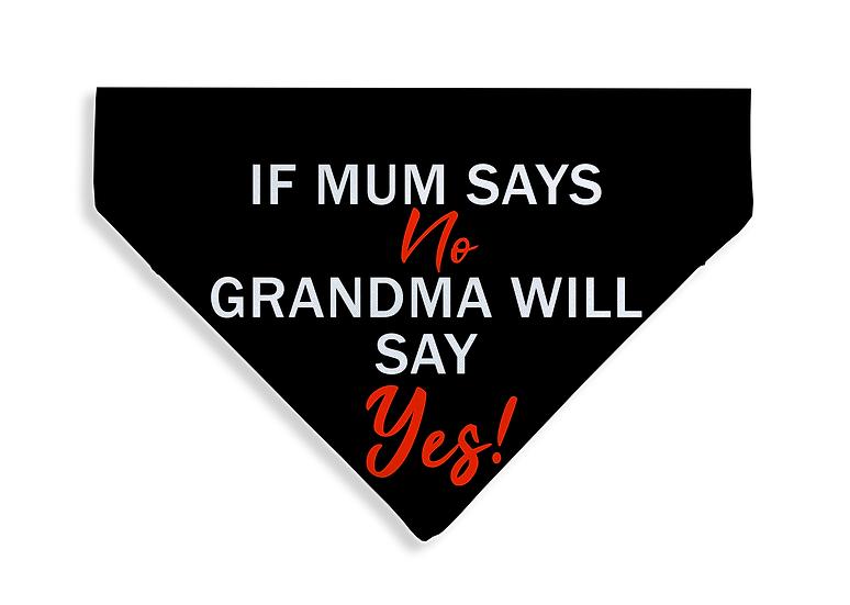 Grandma Says Yes Bandana - From $17