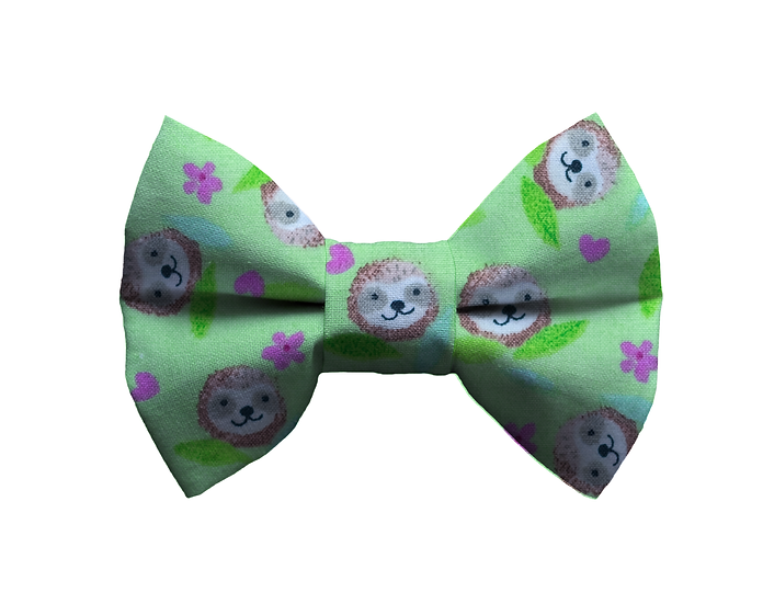 Sloth Face Bow Tie - From $10
