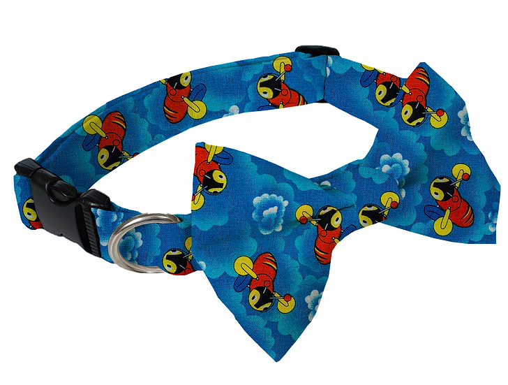 Buzzy Bee Collar (Bow Tie Optional) - From $30