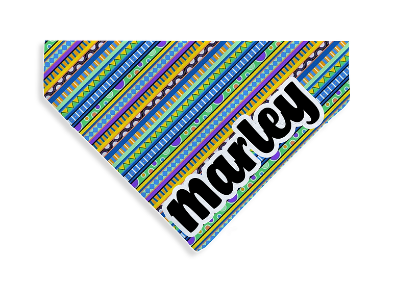 Groovy Stripes Bandana - From $20