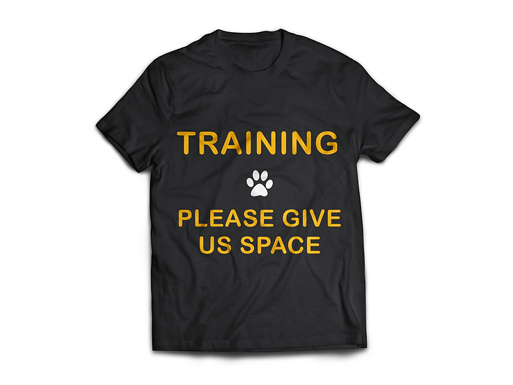 Training Give Space T-Shirt - From $45