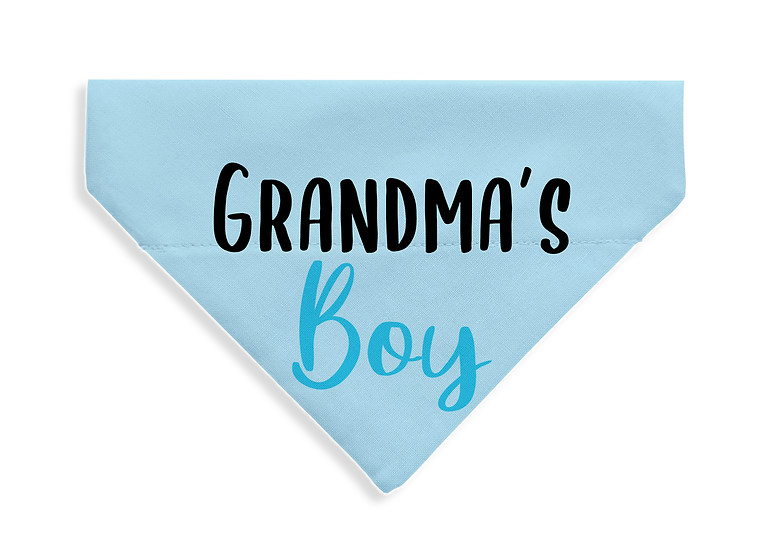 Grandma's Boy Bandana - From $17