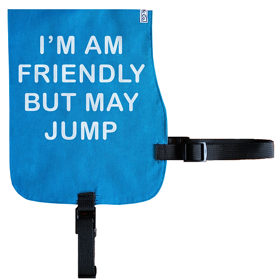 Friendly but may Jump Cotton Vest - From $20