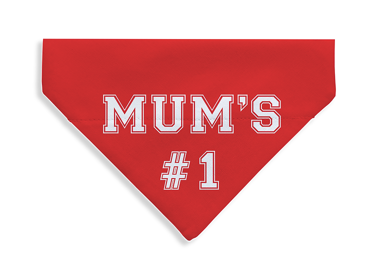 Mum's #1 Bandana - From $17