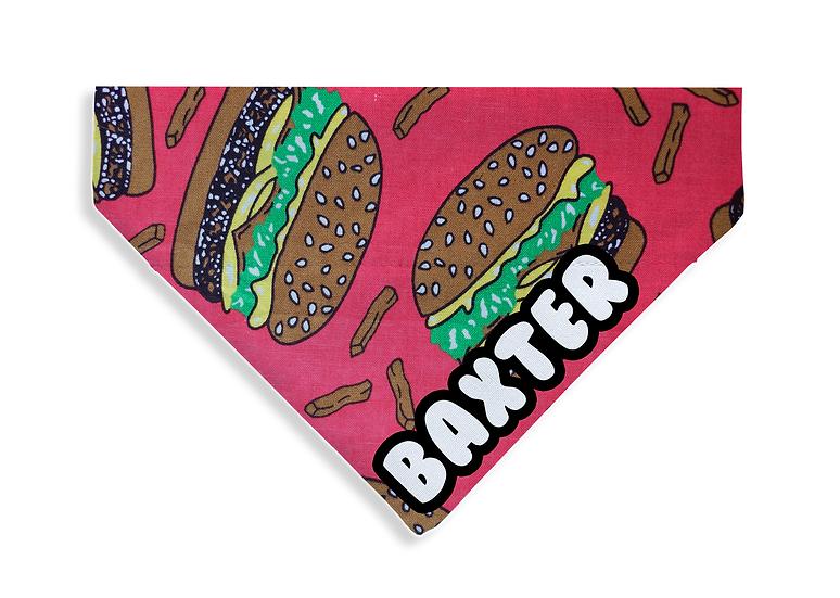 Retro Burger Bandana (Limited Edition) - From $15
