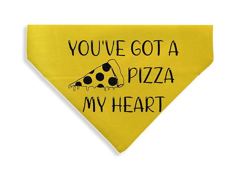 Pizza my heart Bandana - From $17
