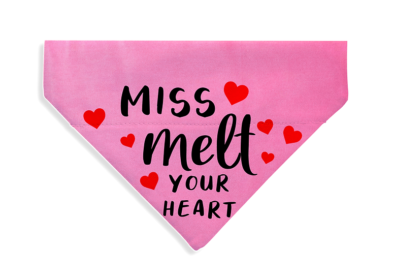 Miss Melt Your Heart Bandana - From $17