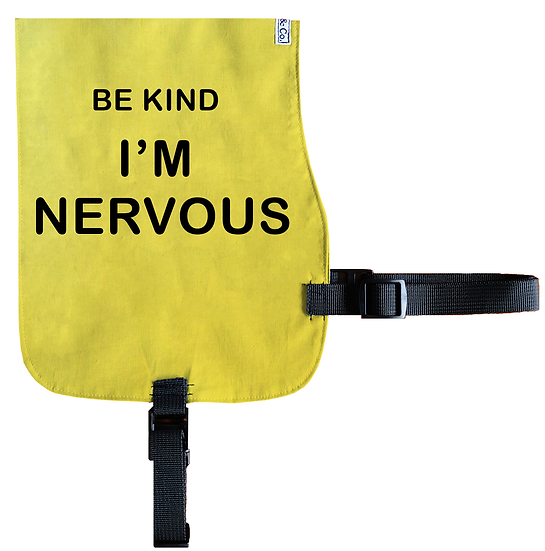 I'm Nervous Cotton Vest - From $20