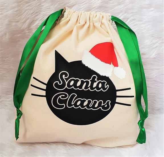 Santa Claws Bag -$30
