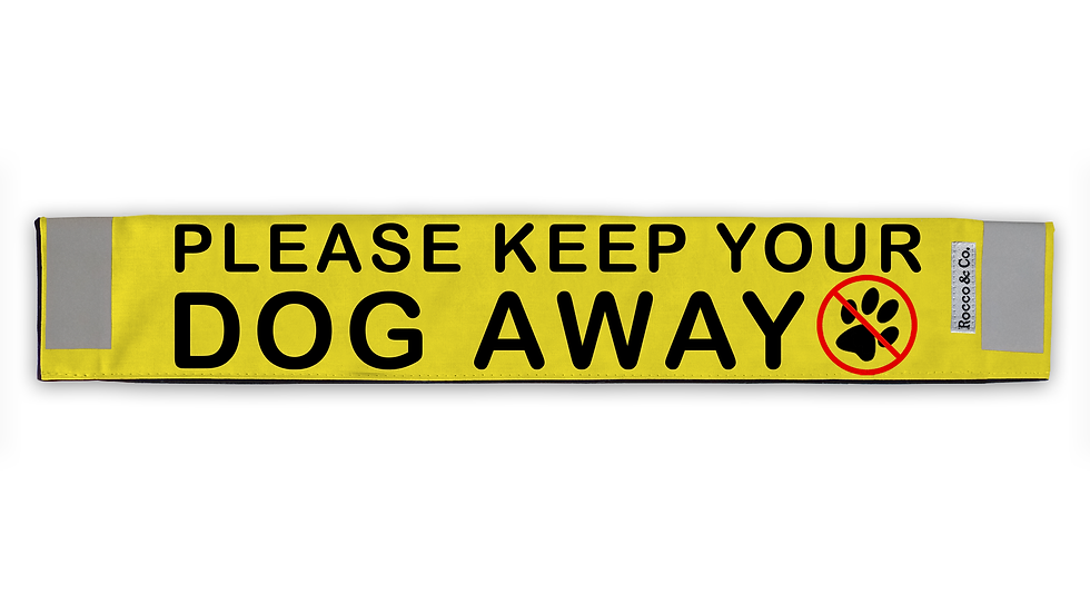 Keep Dog Away Lead Cover - $35
