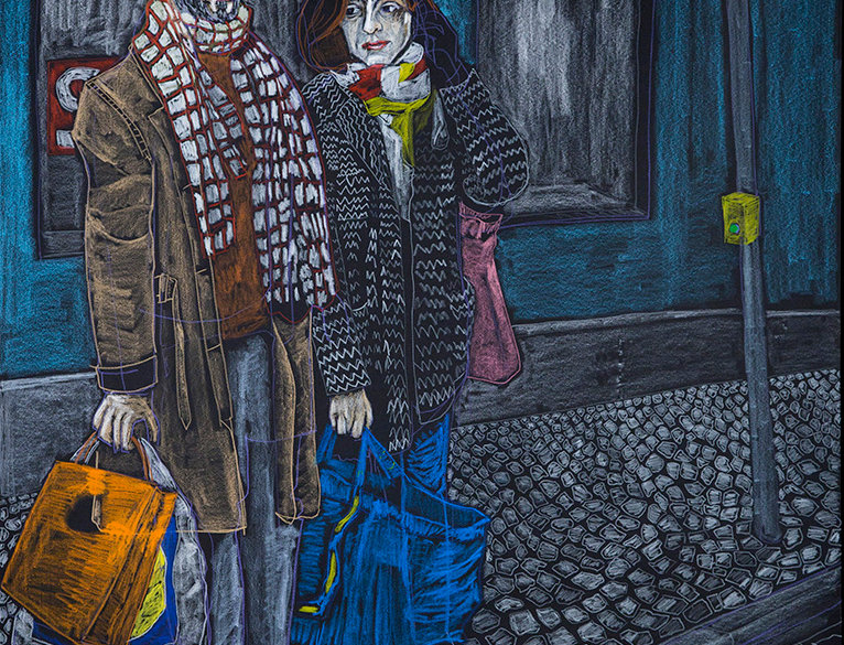 We would walk together on Sundays craving for art and sales | Diogo Barros Pires