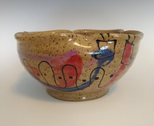 Forever Grateful Bowl by Mayetta Steier